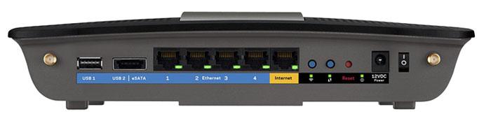 LINKSYS AC2400 DUAL BAND GIGABIT Router Wi-Fi