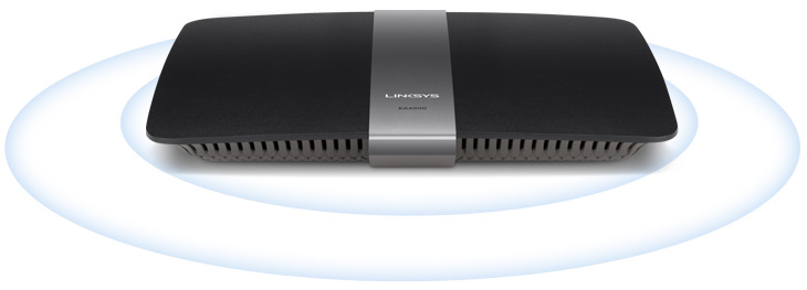 Router Smart Wi-Fi de doble banda N900 de Linksys