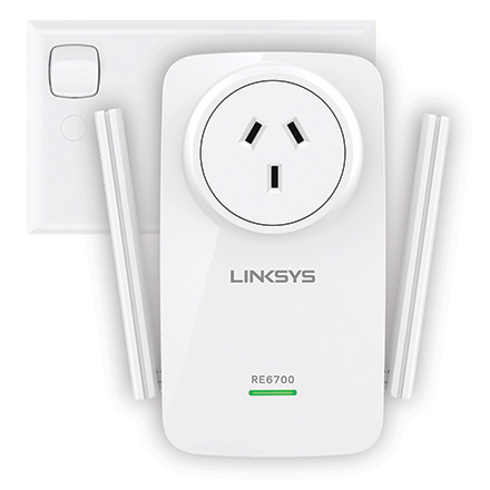 Linksys AC1200 AMPLIFY Dual Band Wi-Fi Range Extender