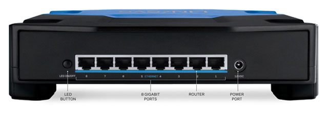 Linksys SE4008 WRT Switch