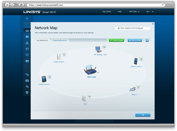 Smart Wi-Fi with Network Map