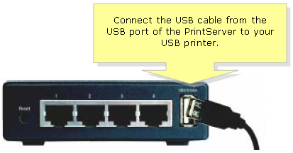 Linksys Official Support - Connecting a Wired PrintServer to the Network
