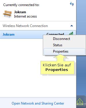 netzwerksicherheitsschlüssel windows 10