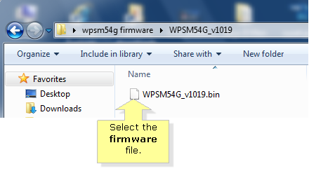 Linksys Official Support - Upgrading the firmware of a WPSM54G