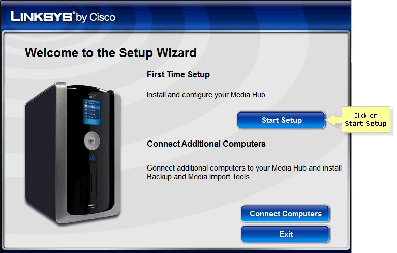 linksys nmh300 firmware