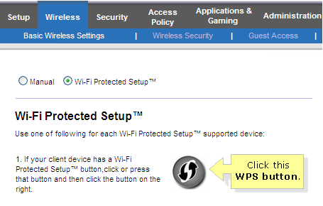 Linksys Official Support - Connecting devices using Wi-Fi Protected