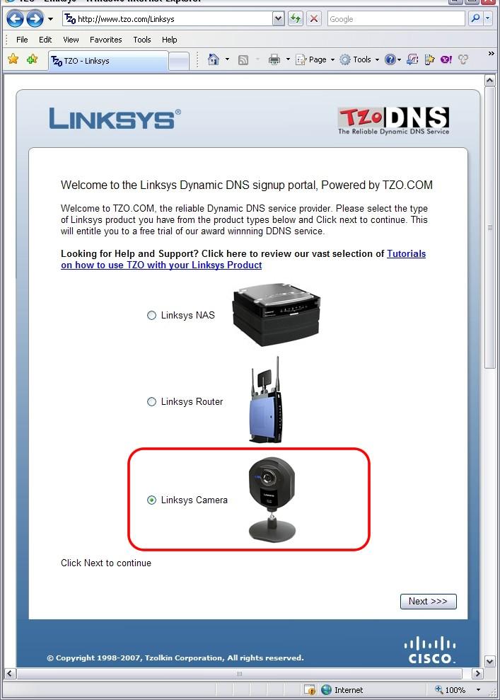 assistance officielle linksys comment configurer l 39 acc s distance votre cam ra de. Black Bedroom Furniture Sets. Home Design Ideas