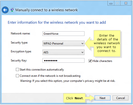 Linksys Official Support - Manually connecting to a wireless