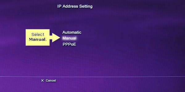 how to assign static ip linksys