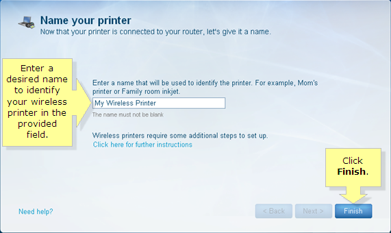 Linksys Official Support - Connecting a wireless printer to your