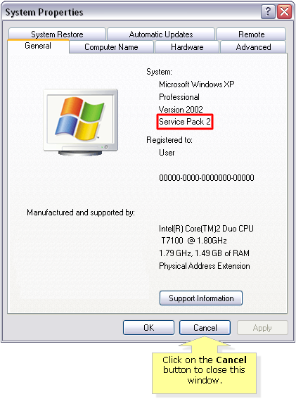 windows service pack 1 download xp