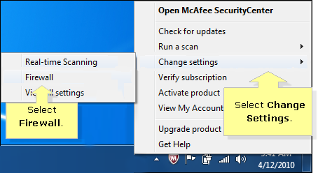Linksys Official Support - How to disable McAfee SecurityCenter