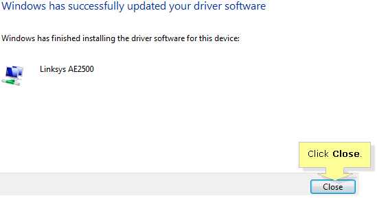 Linksys Official Support - Updating the driver of your