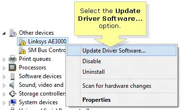 linksys ae3000 drivers windows 7