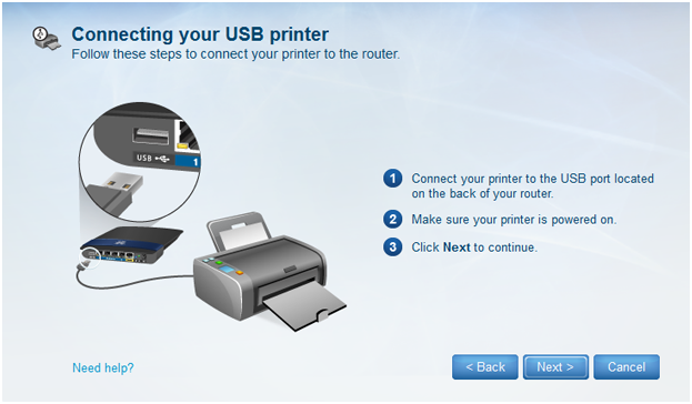 how to make printer connect