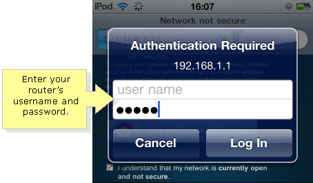 NOTE: Your router's default username is blank, and the default password is admin. In case you have forgotten your password, reset your router and refresh ...