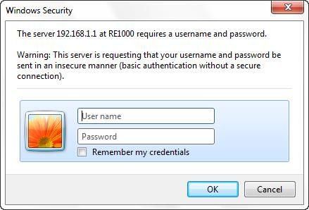 how to change password on linksys re1000