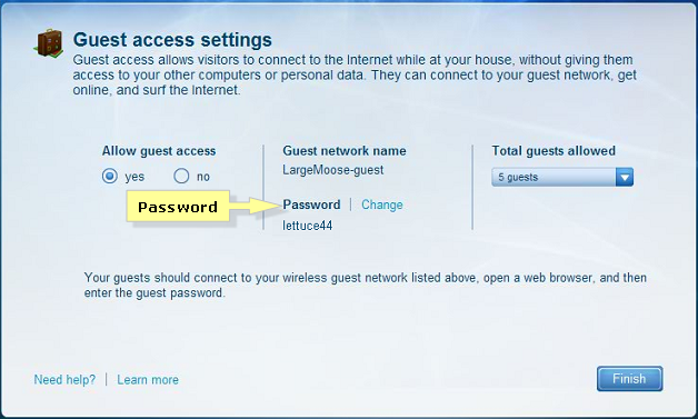 Linksys Official Support - Checking the Guest Network password
