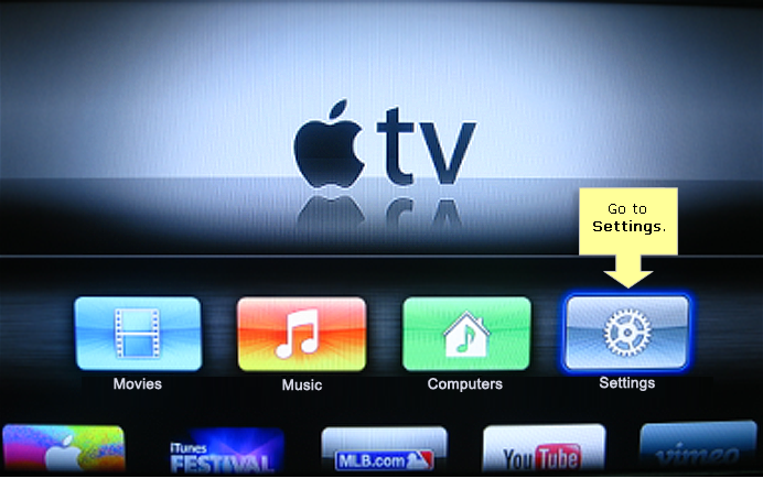 Apple tv Network Settings Setting up Your Apple Tv®
