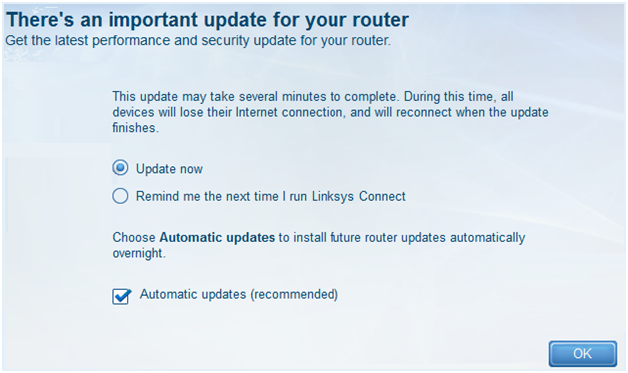 Linksys Official Support - Updating your Linksys Smart Wi-Fi Router