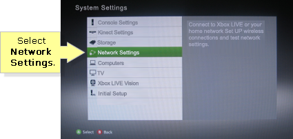 Linksys Official Support - Setting up a static IP on your Xbox 360®