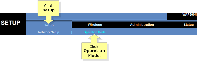 linksys official support setting the linksys wap300n to wireless rh linksys com Samsung TV Wireless Setup Wireless Home Network Setup Diagram
