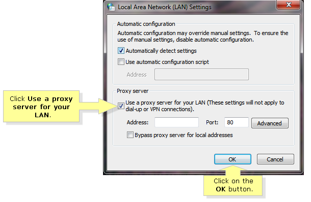 Linksys Official Support - Disabling proxy settings on