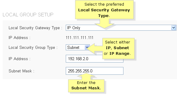 Linksys Official Support - Creating an IPSec tunnel Gateway