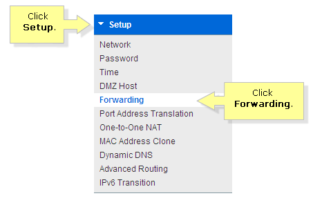 Linksys Official Support - How to configure port forwarding