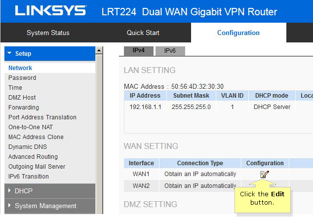 Linksys Official Support - How to configure an EasyLink VPN
