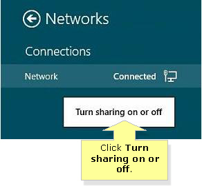 how to change network location from public to private in windows 8.1