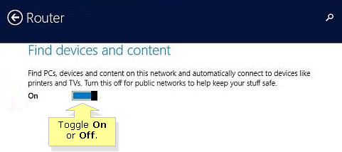how to make public network private windows 8.1