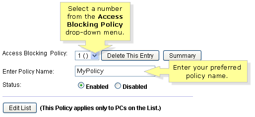 Linksys Official Support - Setting up Access Restrictions on