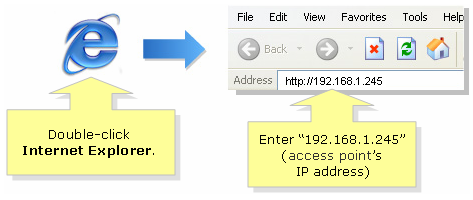 how to find the ip of web page