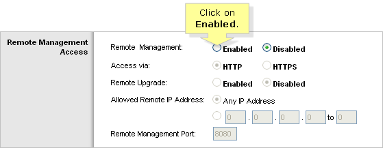 Linksys Official Support - Enabling Remote Management on a
