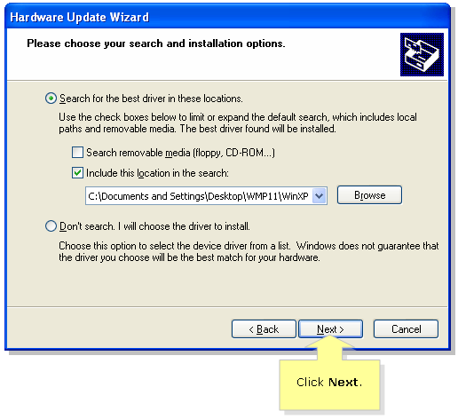 Linksys Official Support - Updating the Linksys network adapter's driver