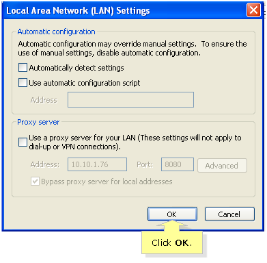 Linksys Official Support - Disabling Proxy Settings on the