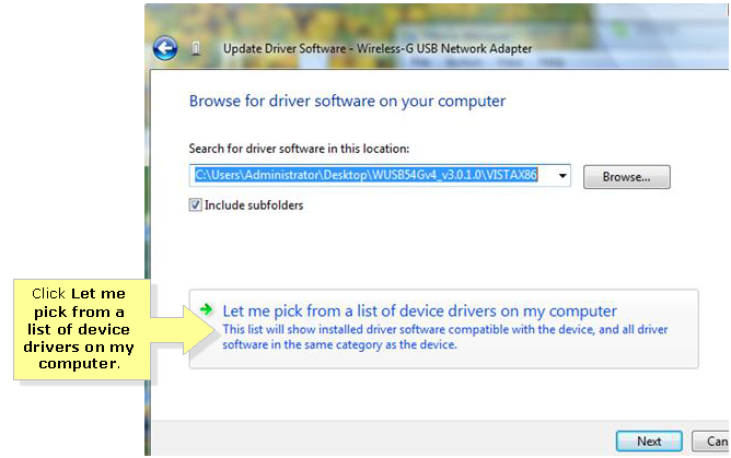 Linksys Official Support - Updating the wireless adapter's