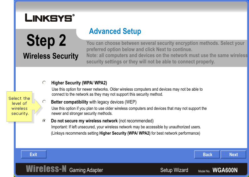 Linksys Official Support Advanced Installation Guide For
