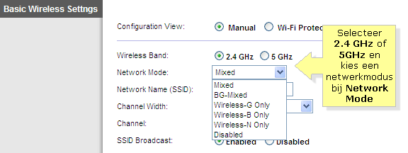 netwerk activiteit monitoren