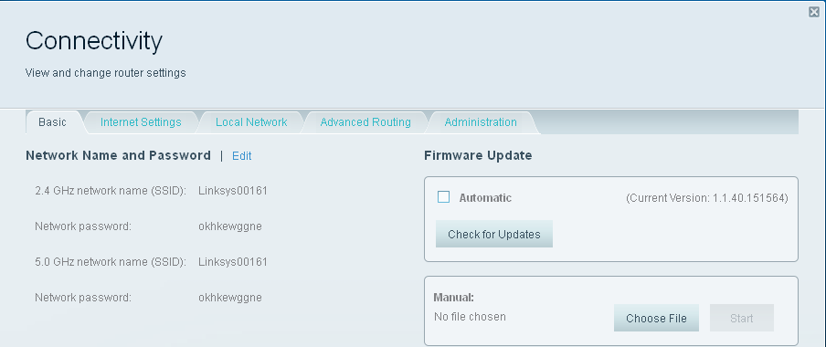 Linkys ea4500 firmware upgrade -> downgrade has. Linksys.